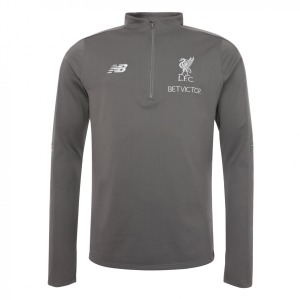 [해외][Order] 18-19  Liverpool Elite Training Hybrid Sweater Top- Grey