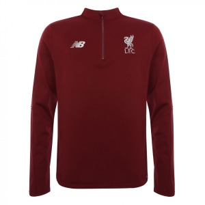 [해외][Order] 18-19  Liverpool Elite Training Hybrid Sweater Top- D Red