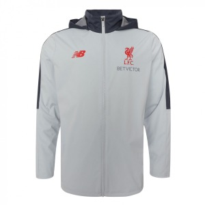[해외][Order] 18-19  Liverpool Elite Training Precision Rain Jacket - ㅣLight Grey