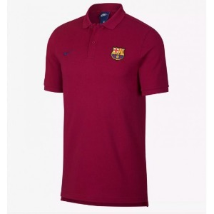 [해외][Order] 18-19 Barcelona NSW Polo Shirt - Noble Red/Deep Royal Blue