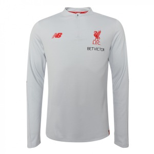 [해외][Order] 18-19  Liverpool Elite Training MidLayer Top - light Grey