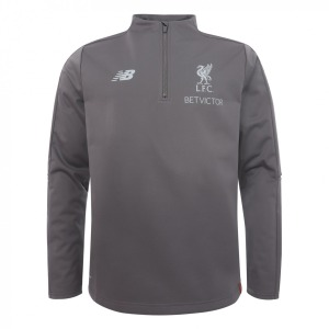 [해외][Order] 18-19  Liverpool Training 1/4 Top - Grey