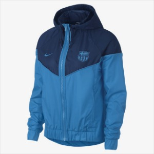 [해외][Order] 18-19 Barcelona NSW Authentic Woven WindRunner Jacket - Equator Blue/Coastal Blue/Equator Blue