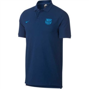 [해외][Order] 18-19 Barcelona NSW Polo Crew - Coastal Blue/Equator Blue