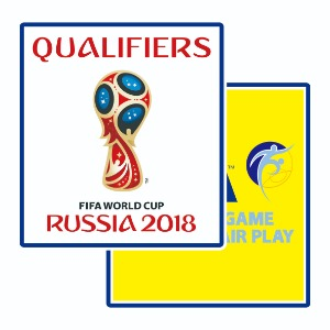 2018 Russia WorldCup Qualified Patch SET