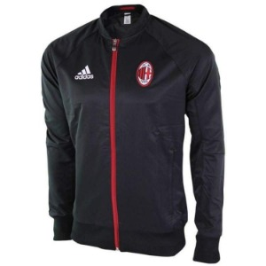 16-17 AC Milan Anthem Jacket - Black
