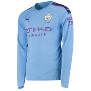 19-20 Manchester City Home L/S