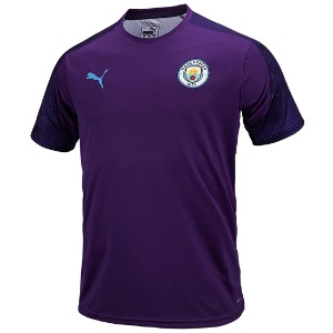 19-20 Manchester City Training Jersey - Purple