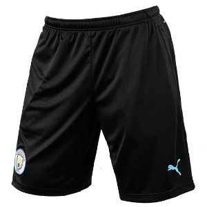 19-20 Manchester City Training Shorts - Black