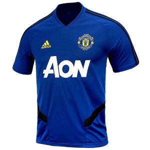 19-20 Manchester United Training Jersey - Blue