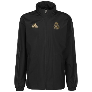 [해외][Order] 19-20 Real Madrid All-Weather Jacket - Black/Carbon