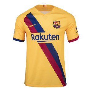 19-20 Barcelona Away Stadium Jersey