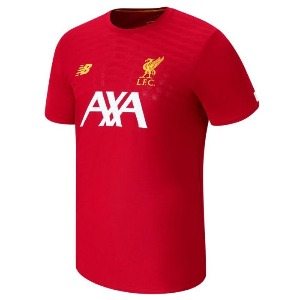 [해외][Order] 19-20 Liverpool Pre Game Shirt - Red Pepper