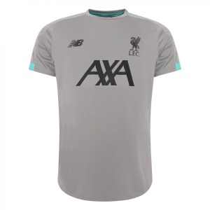 [해외][Order] 19-20 Liverpool On Pitch Jersey - Grey