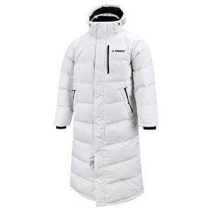 XPLR Down Bench Coat - White