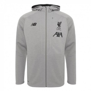 [해외][Order] 19-20 Liverpool Travel Full Zip Hoody - Grey Marl