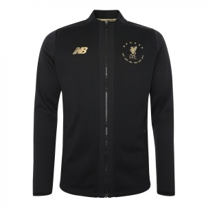 [해외][Order] 19-20 Liverpool 6 Times Signature Collection Euro Game Jacket - Black