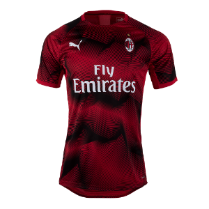 19-20 AC Milan Stadium Graphic Jersey - Red