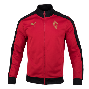 19-20 AC Milan T7 Track Jacket - 120 Anniversary (Red)