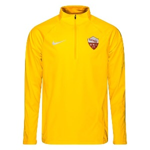 [해외][Order] 18-19 AS Roma Shield Squad Training Drill Top - University Gold