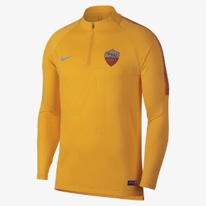 [해외][Order] 18-19 AS Roma Squad Training Drill Top - University Gold