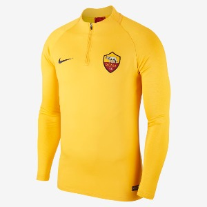[해외][Order] 19-20 AS Roma Squad Strike Drill Top - University Gold