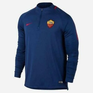 [해외][Order] 17-18 AS Roma Squad Training Drill Top - Blue