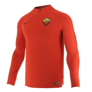[해외][Order] 18-19 AS Roma Squad Training Drill Top - Habanero Red