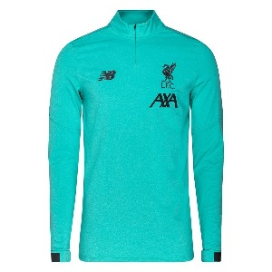 [해외][Order] 19-20 Liverpool On-Pitch Midlayer Top - Turquoise