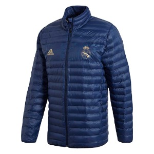 [해외][Order] 19-20 Real Madrid SSP LT Jacket - Night Indigo/Dark Football Gold