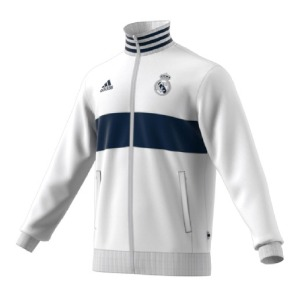 [해외][Order] 19-20 Real Madrid 3-Stripe Track Top - White/Night Indigo