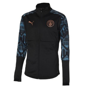 20-21 Manchester City Stadium Jacket - Black