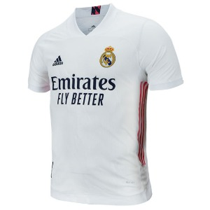 20-21 Real Madrid Authentic Home Jersey - AUTHENTIC