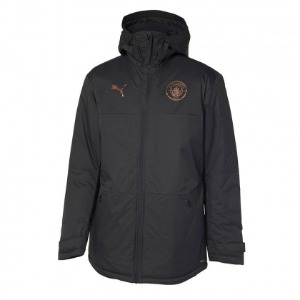 20-21 Manchester City Training Winter Jacket - Black