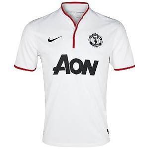12-13 Manchester United Boys UCL(UEFA Champions League) Away - KIDS