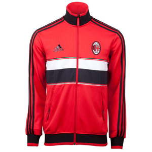 12-13 AC Milan (ACM) Core Track Top - Red