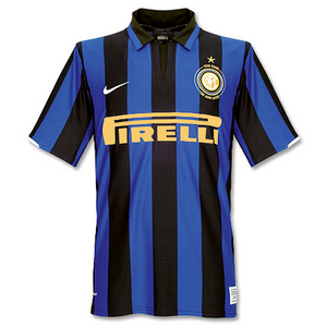 07-08 Inter Millan Centenary Home(Gold Sponsor Version)