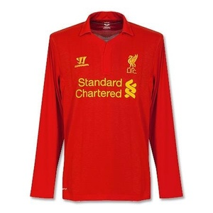 [Order] 12-13 Liverpool(LFC) EUROPA League Boys Home L/S - KIDS