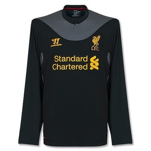 [Order] 12-13 Liverpool(LFC) EUROPA League Boys Away L/S - KIDS