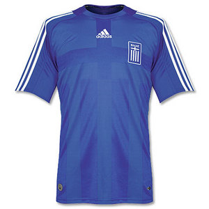 07-09 Greece Away + 7 SAMARAS (Size:M)