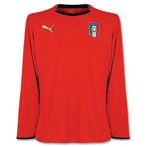 08-09 Italy Home GK L/S + 1 BUFFON