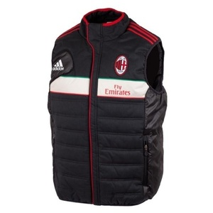 [Order] 12-13 AC Milan Training Padded Vest - Black