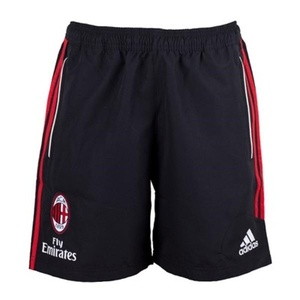 [Order] 12-13 AC Milan Training Woven Shorts - Black