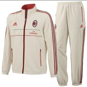 [Order] 12-13 AC Milan Training Presentation Suit - Bone