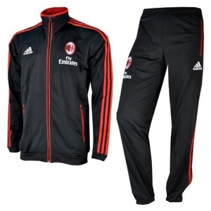 [Order] 12-13 AC Milan Training Presentation Suit - Black
