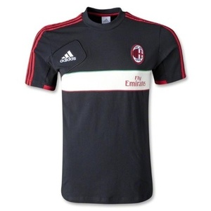 [Order] 12-13 AC Milan Training Polo Shirt - Black