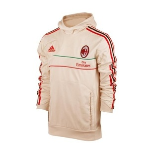 [Order] 12-13 AC Milan Training Hooded Sweat Top - Bone