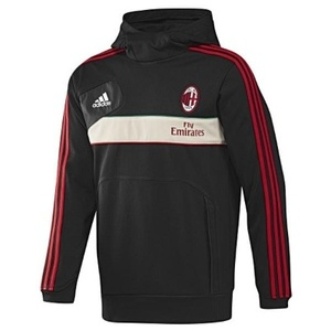 [Order] 12-13 AC Milan Training Hooded Sweat Top - Black