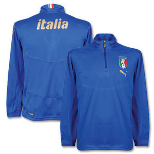 08-09 Italy Half Zip Training Top