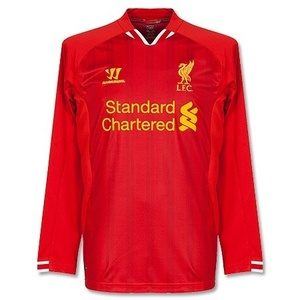 [Order] 13-14 Liverpool(LFC) Boys Home L/S - KIDS